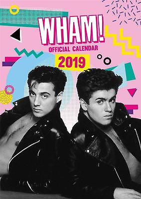 Wham Official 2019 Wall Calendar A3 New & Sealed