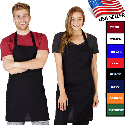 1 Piece New Kitchen Commercial Restaurant Bib Apron