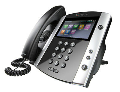 Polycom VVX 601 Wired handset 16lines LCD Black IP phone - 2200-48600-025