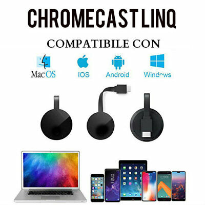 Clone Google Chromecast Linq Video Hdmi Streaming Media Player Wifi