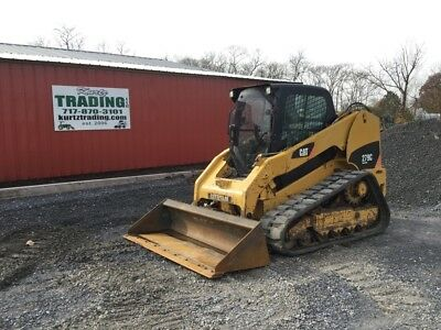 2011 Caterpillar 279C Tracked Skid Steer Loader w/ Cab & 2 Speed