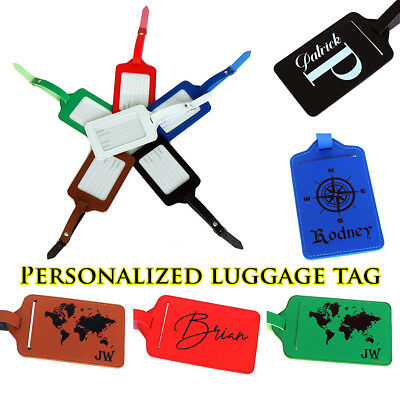 Personalized Luggage Tag Travel Accessories Custom Luggage Tags Travel Gift c