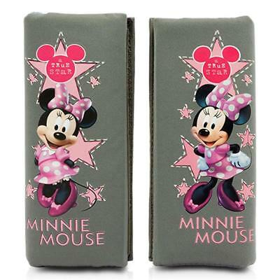 MINNIE102 - Mini almohadillas cinturón coche Minie Disney