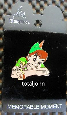 Disney DLR - Memorable Moments - Peter & Tinker Bell on a Thimble Pin