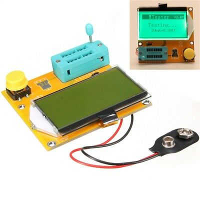 LCR-T3 Transistor Tester 128x64 LCD Resistance Capacitance Diode ESR SCR Inducta