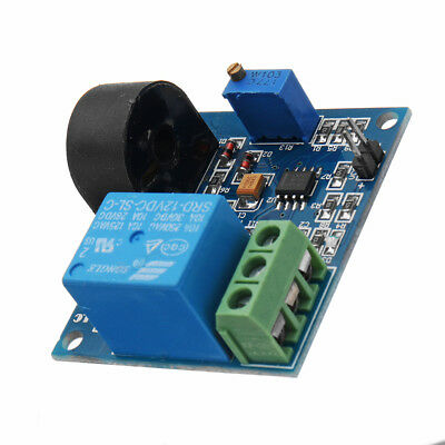 DC 12V 5A Overcurrent Protection Sensor Module AC Current Detection Relay Module