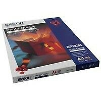 Epson Photo Quality Inkjet Paper - A4 - 100 Sheets - C13S041061