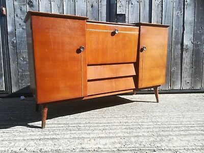 Vintage retro Beautility sideboard drinks cabinet