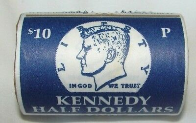 2008 - P Roll Of Kennedy Half Dollars - Brilliant Uncirculated - Mint Wrapped