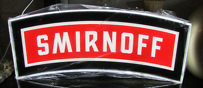 Smirnoff Vodka LED Lighted Bar Sign New In box