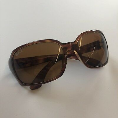 c2f01764226 100% AUTHENTIC Ray-Ban RB4075 642 57 Tortoise   Brown Polarized Sunglasses  NICE