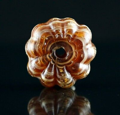 Large Chinese Glass Bead.  100% Original artifacts. #28