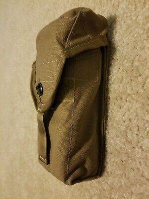 New MOLLE II 5.56 Double 30 Round Mag Pouch Coyote Brown USMC