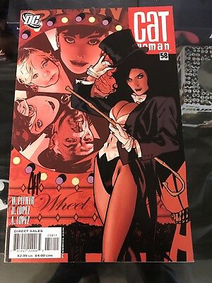 Catwoman #58 Signed By Adam Hughes Cover Artist Zatanna