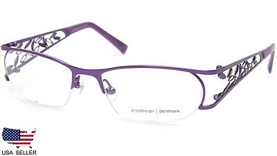 46b18ecbfa8 NEW PRODESIGN DENMARK 5130 c.3021 LILAC EYEGLASSES GLASSES 52-17-130 B29mm