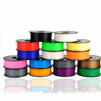 1.75mm 3mm Wire 1KG No Impurities 3D Printer Filament ABS / PLA Rod Printing