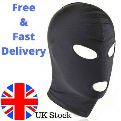 Fetish Harness Head Hood Bdsm Slave Game Bondage Restraint Face Mask Liberal