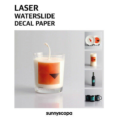 Sunnyscopa Laser Waterslide Decal Paper Premium 20µm film