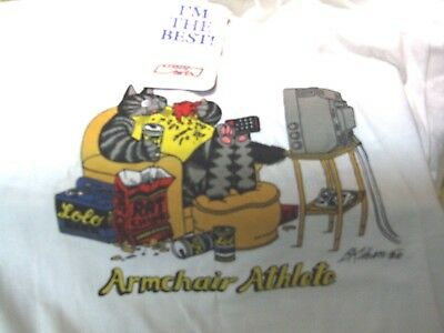 Kliban Cat Armchair Athlete T-Shirt