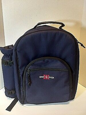 Picnic At Ascot Backpack for 4 with Wine Holder and Cooler Dishes not included