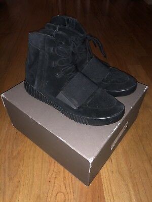 Adidas Yeezy 750 Boost Triple Black  OG All 350 700 Trusted Seller USED Size 12