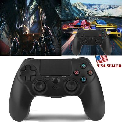 NEW Black Wireless Bluetooth Game Controller Pad For Sony PS4 Playstation 4 FA