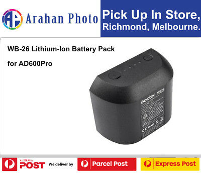 Godox WB-26 Lithium-Ion Battery Pack for AD600Pro
