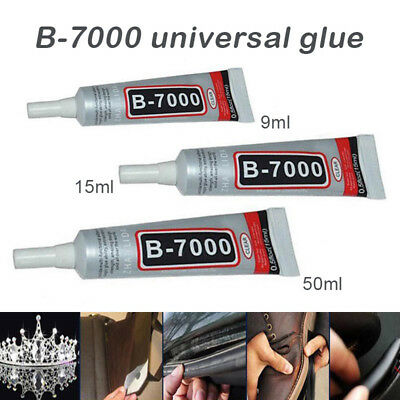 B7000 Glue Industrial Adhesive for Phone Laptop Frame Bumper Jewelry 15/50ml