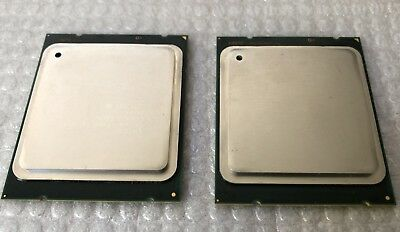 Matched Pair Of Intel Xeon E5-2689 2.6-3.6Ghz 8 Core 20Mb 8Gts Cpu Sr0L6 Lga201