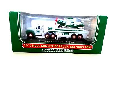 Hess 2012 Miniature Truck And Airplane New With Box Great Buy