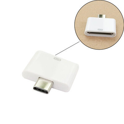 30Pin Dock to USB3.1 Type-C Adapter Connector For LG Google Nexus to iphone 4 4S