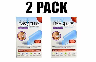 Nasopure, Nasal Wash System, Little Squirt Kit, 2 PACK (2 Kits)