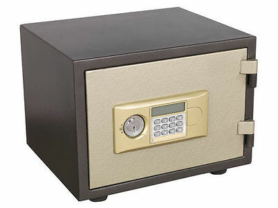 FIREPROOF HEAVY DUTY ELECTRONIC KEY LOCK SECURITY SAFE UL APPROVAL 42x35x33mm