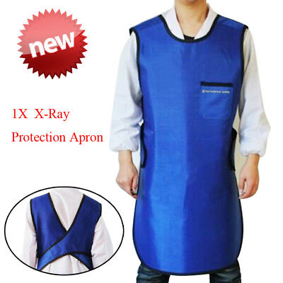 Blue Dental X-Ray Radiation Protective Apron Lead Vest Cover Shield Doctors CE