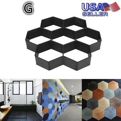 Gardening Grids Pathmate Pathway Mould Paving Concrete Stepping Pavement Paver