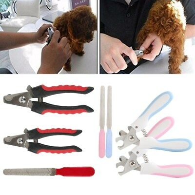Professional Pet Dog Cat Nail Trimmer Grooming Tool Grinder Electric Clipper Set
