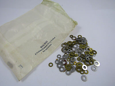 Vintage Clockmakers Repairers Job Lot Various Clock Washers Original Packets