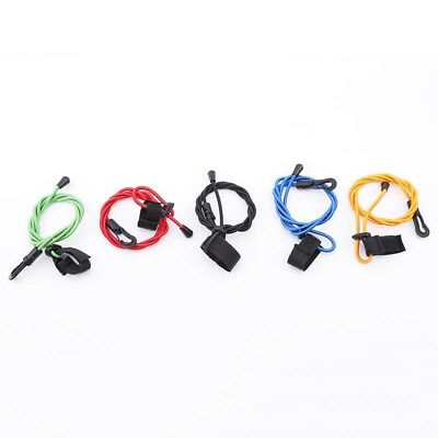 Elastic Kayak Boat Canoe Paddle Leash Fishing Rod Coil / Tether / Bungee Cord BS