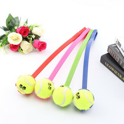 pet Dog Tennis Ball Launcher Thrower Chucker Puppy training toy Outdoor Funny