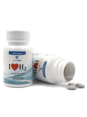 I Love H2 Molecular Hydrogen Dissovable Tablets (60 Caps)