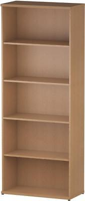 Trexus Office Bookcase 800mm 5 Shelves Oak - I000760