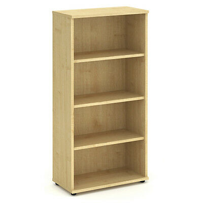 Trexus Office Bookcase 800mm 4 Shelves Maple - I000231