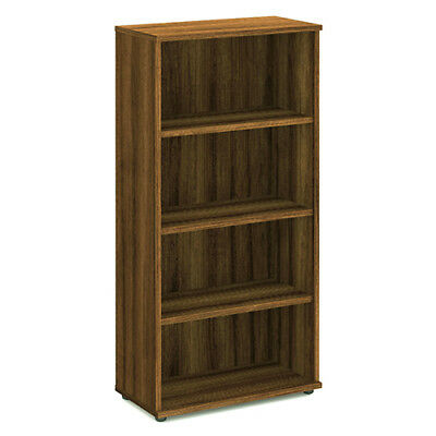 Trexus Office Bookcase 800mm 4 Shelves Walnut - I000111