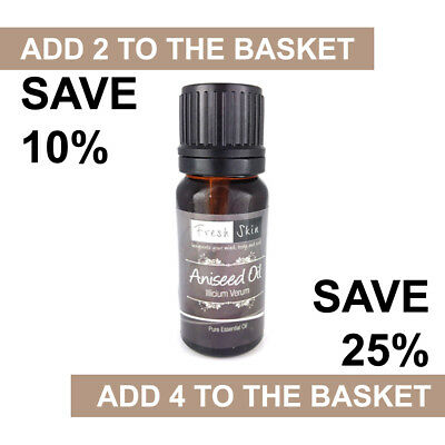 Aniseed Essential Oil 10ml - 100% Pure & Natural Essential Oils - Aromatherapy