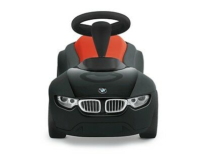 BMW Baby Racer III Schwarz Orange neuste Version 2018 Rutscherauto NEU/OVP