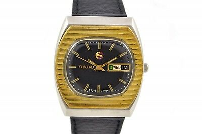 Vintage Rado Voyager Stainless Steel Automatic Mens Watch 229