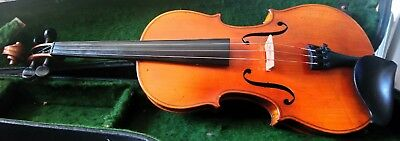 Antique 4/4 violin in good working order, probably early 20th century German.