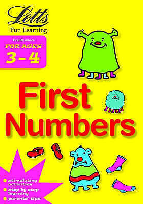 First Numbers Age 3-4 (Letts Fun Learning) (Pre-school Fun Learning), Various, G