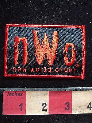 1998 Patch - World Championship Wrestling NEW WORLD ORDER WCW NWO 76Y3
