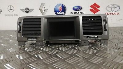 2008 Opel/vauxhall Vectra Digital Display Clock With Air Vents 13208184